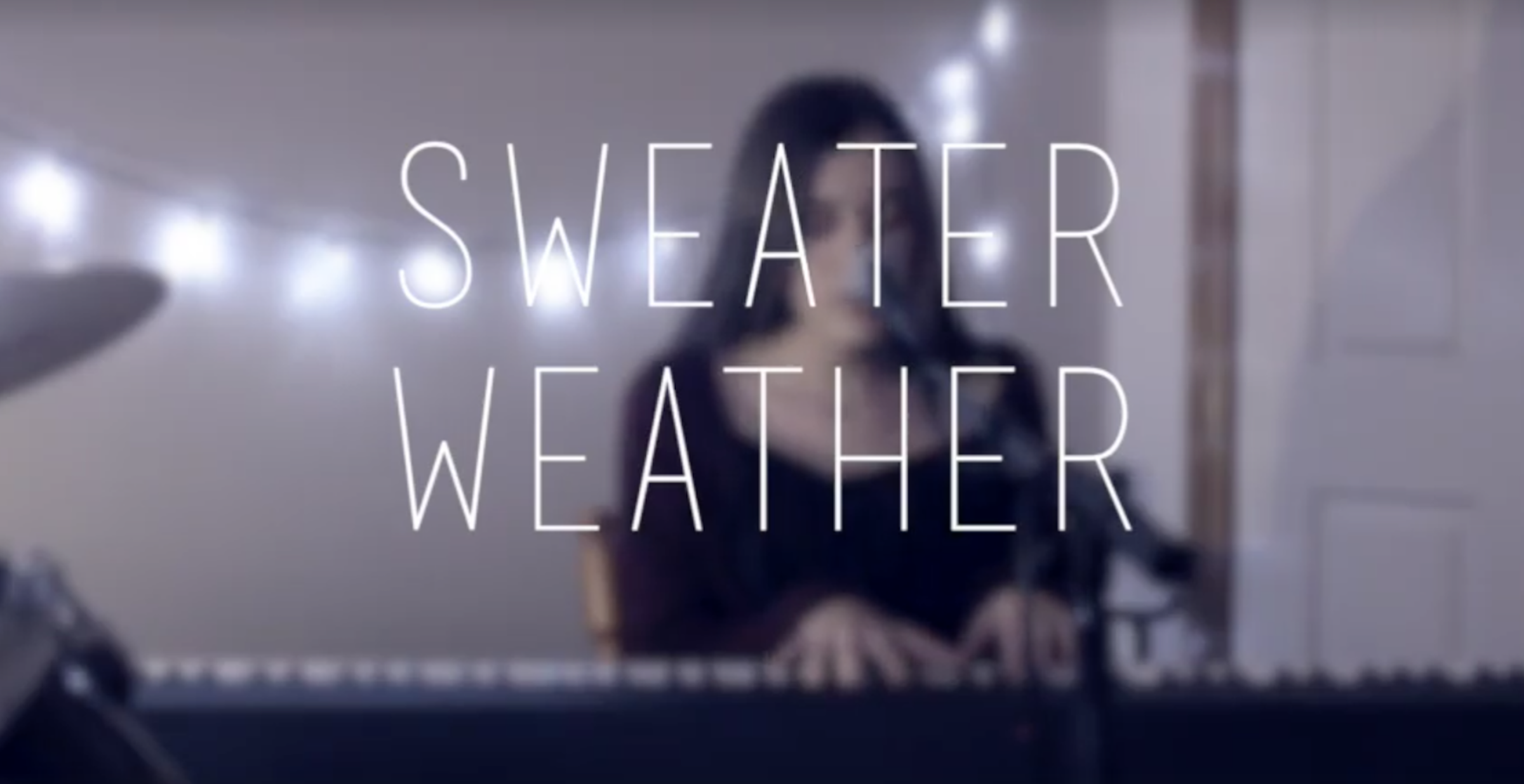 Sweater Weather cover ~ The Neighbourhood